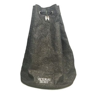Victoria's Secret Glitter Drawstring Backpack